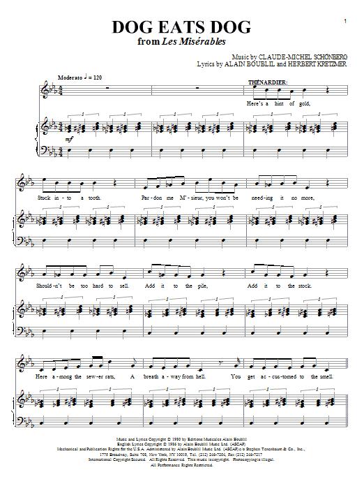 Dog Eats Dog (Piano & Vocal)