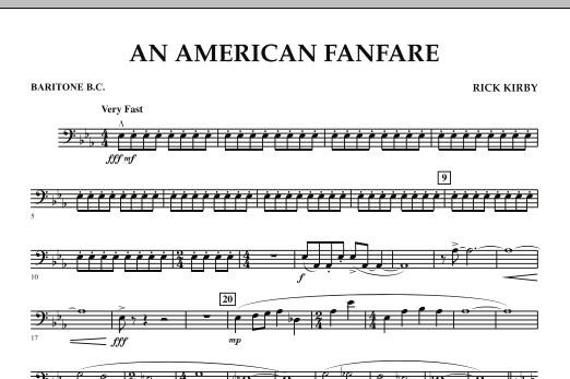 An American Fanfare - Baritone B.C. (Concert Band)