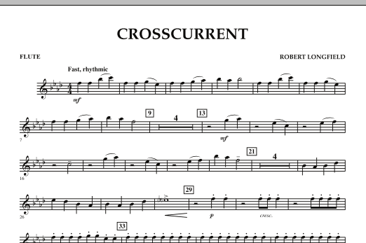 Crosscurrent - Flute (Concert Band)