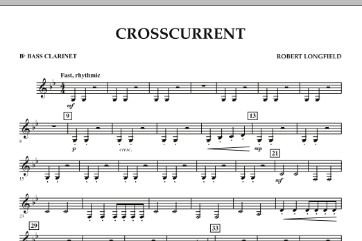 Crosscurrent - Bb Bass Clarinet (Concert Band)