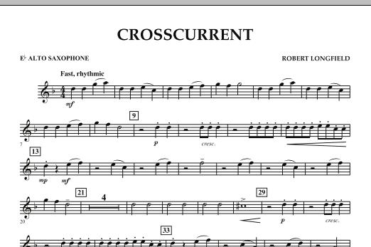 Crosscurrent - Eb Alto Saxophone (Concert Band)