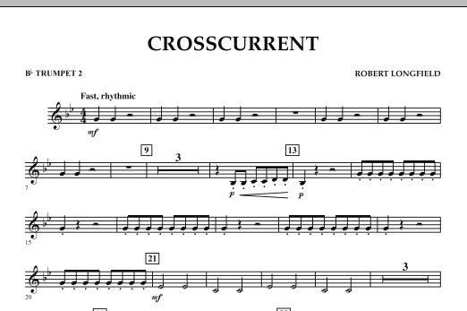 Crosscurrent - Bb Trumpet 2 (Concert Band)