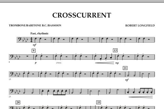Crosscurrent - Trombone/Baritone B.C./Bassoon (Concert Band)