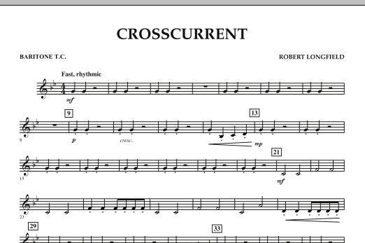 Crosscurrent - Baritone T.C. (Concert Band)