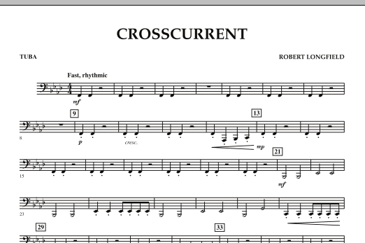 Crosscurrent - Tuba (Concert Band)