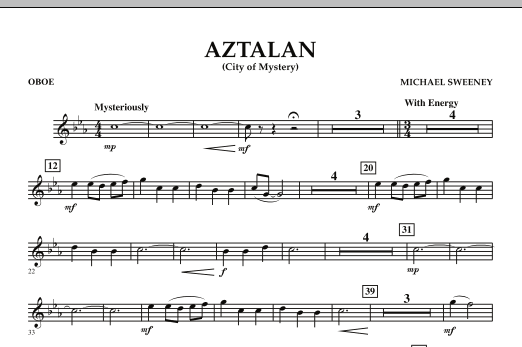 Aztalan (City of Mystery) - Oboe (Concert Band)