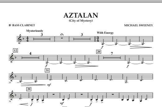 Aztalan (City of Mystery) - Bb Bass Clarinet (Concert Band)