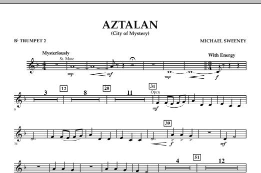 Aztalan (City of Mystery) - Bb Trumpet 2 (Concert Band)