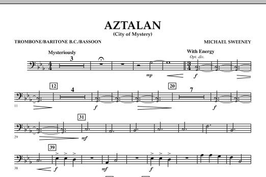 Aztalan (City of Mystery) - Trombone/Baritone B.C./Bassoon (Concert Band)