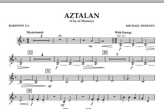 Aztalan (City of Mystery) - Baritone T.C. (Concert Band)