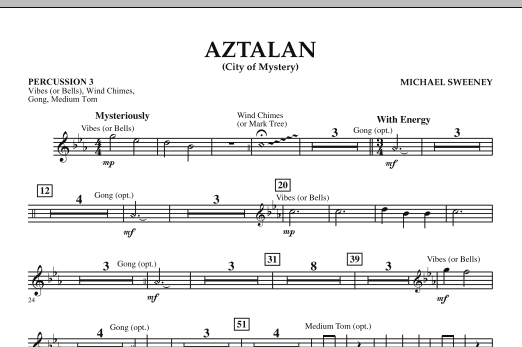 Aztalan (City of Mystery) - Percussion 3 (Concert Band)