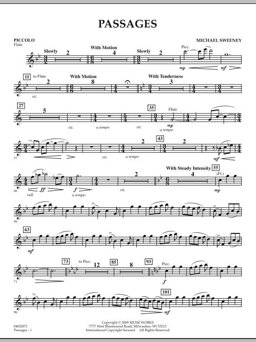 Passages - Piccolo (Concert Band)
