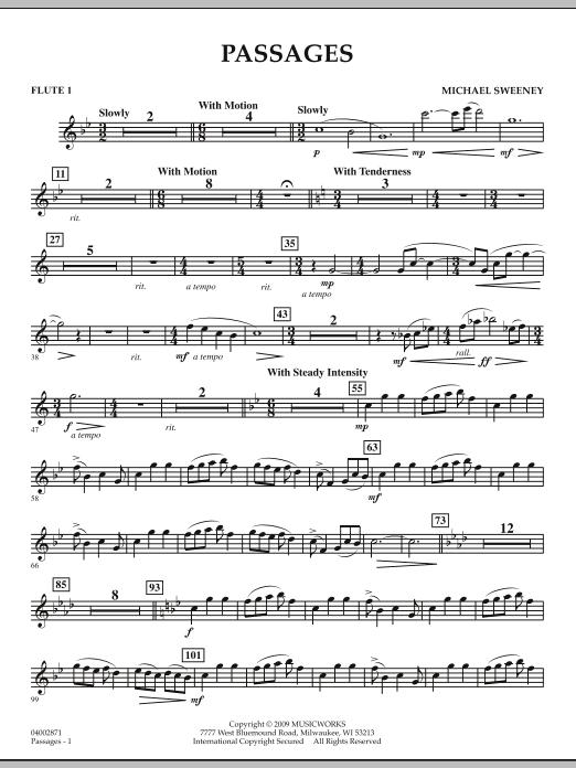 Passages - Flute 1 (Concert Band)