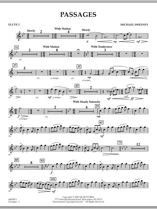 Passages - Flute 2 (Concert Band)