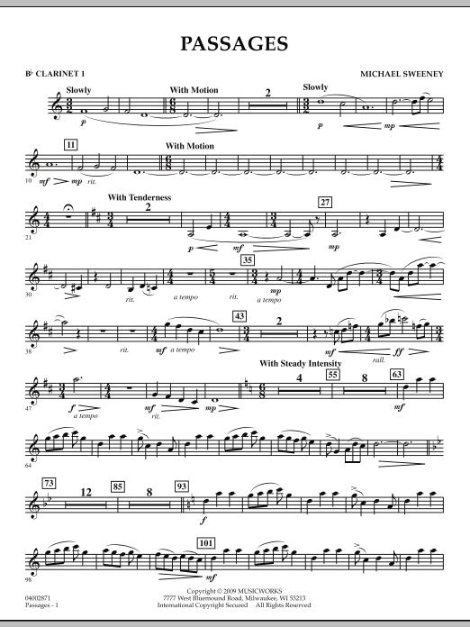 Passages - Bb Clarinet 1 (Concert Band)