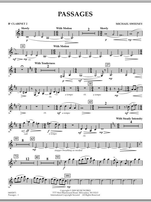 Passages - Bb Clarinet 2 (Concert Band)