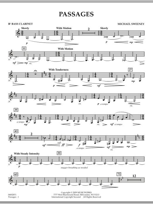 Passages - Bb Bass Clarinet (Concert Band)