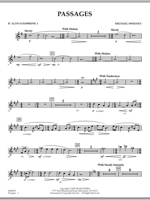 Passages - Eb Alto Saxophone 1 (Concert Band)
