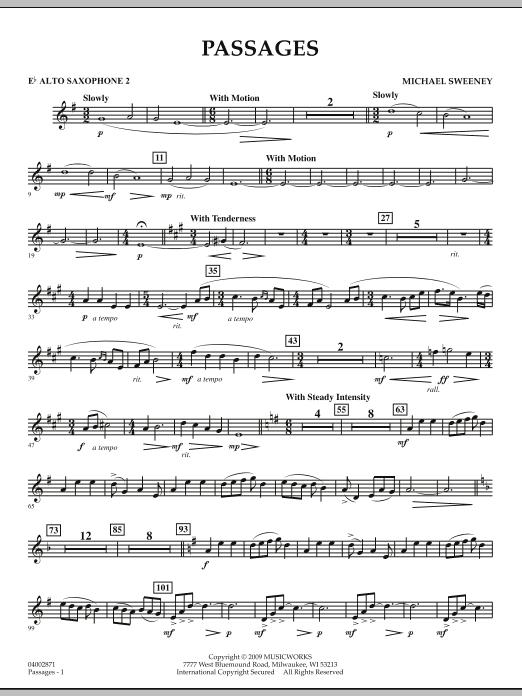 Passages - Eb Alto Saxophone 2 (Concert Band)