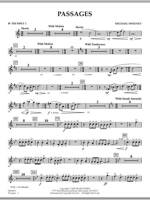 Passages - Bb Trumpet 1 (Concert Band)