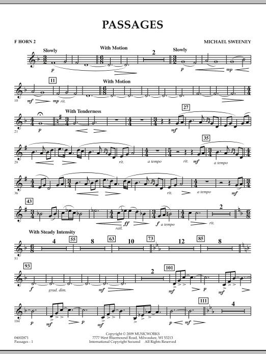 Passages - F Horn 2 (Concert Band)