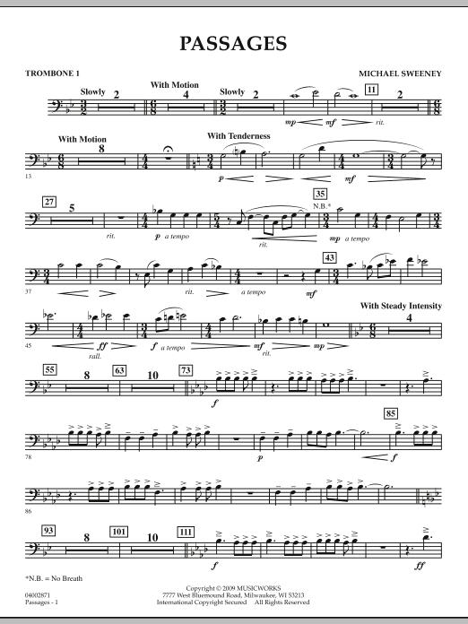 Passages - Trombone 1 (Concert Band)