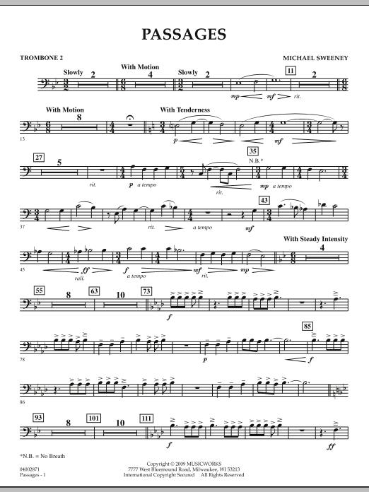 Passages - Trombone 2 (Concert Band)