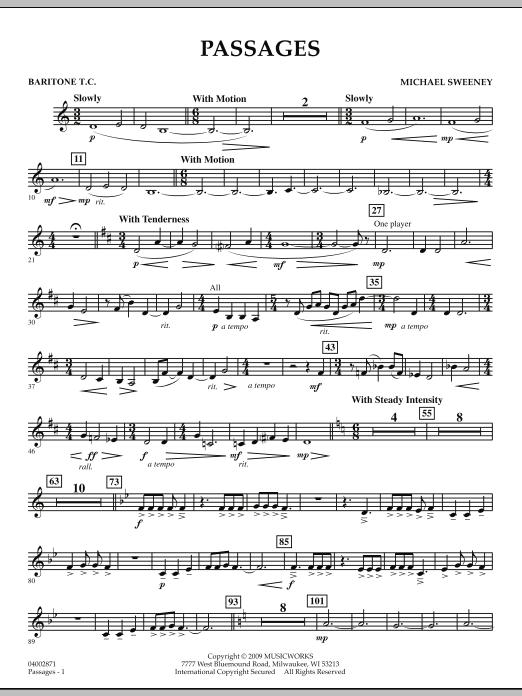 Passages - Baritone T.C. (Concert Band)