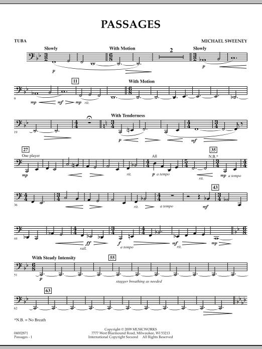 Passages - Tuba (Concert Band)