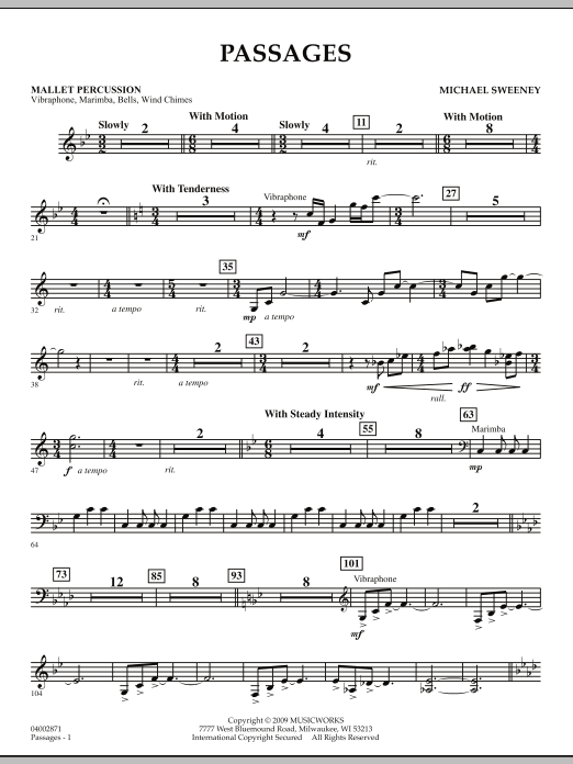 Passages - Mallet Percussion (Concert Band)