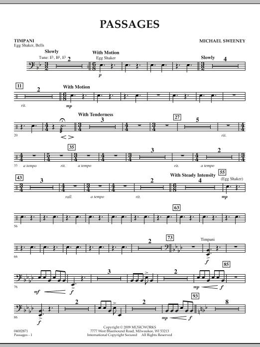 Passages - Timpani (Concert Band)