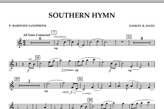 Southern Hymn - Eb Baritone Saxophone (Concert Band)