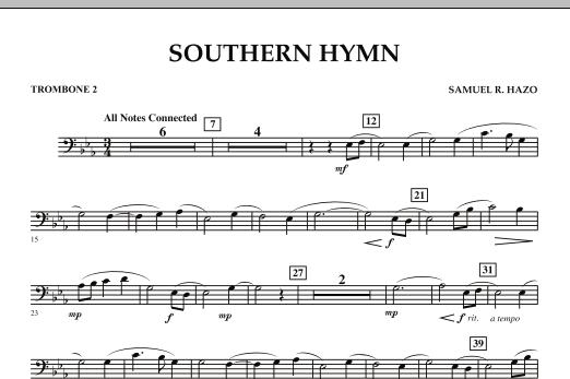 Southern Hymn - Trombone 2 (Concert Band)