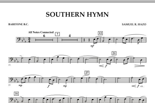 Southern Hymn - Baritone B.C. (Concert Band)