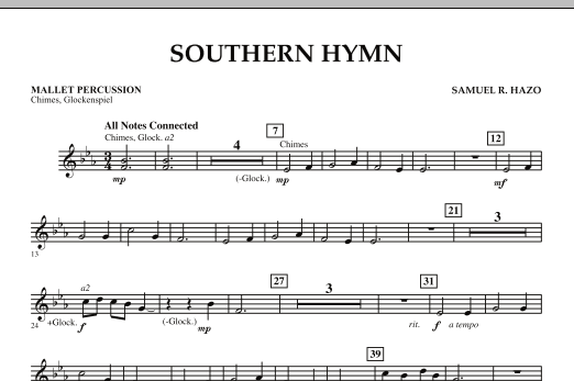 Southern Hymn - Mallet Percussion (Concert Band)