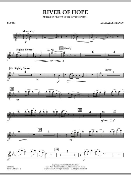 River of Hope - Flute (Concert Band)