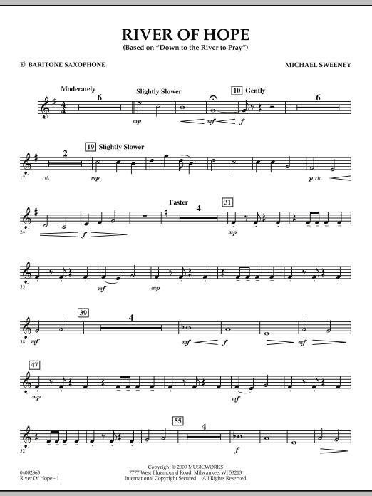 River of Hope - Eb Baritone Saxophone (Concert Band)
