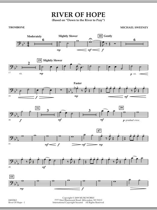 River of Hope - Trombone (Concert Band)