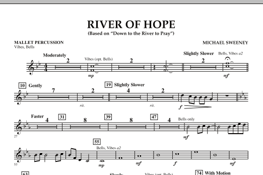 River of Hope - Mallet Percussion (Concert Band)