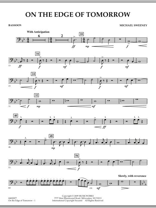 On the Edge of Tomorrow - Bassoon (Concert Band)