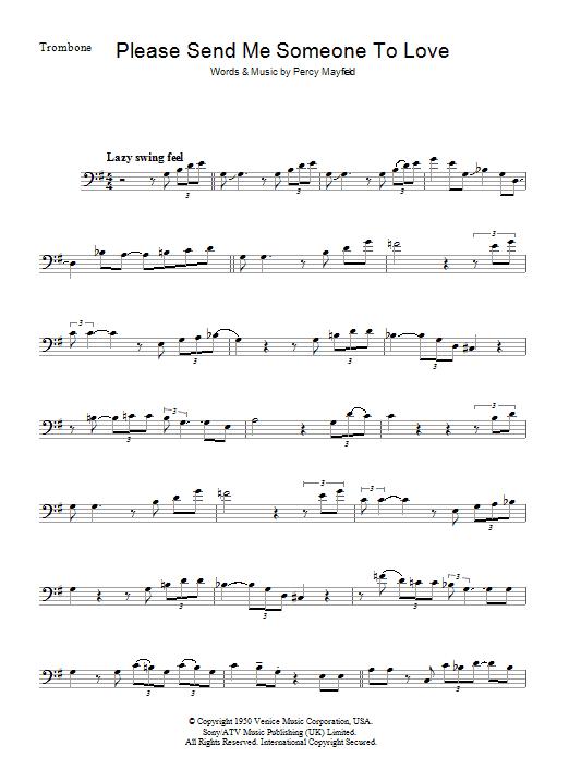 Please Send Me Someone To Love (Piano, Vocal & Guitar)
