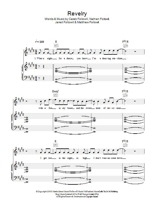 Revelry (Piano, Vocal & Guitar)