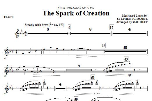 The Spark of Creation (from Children of Eden) - Flute (Choir Instrumental Pak)