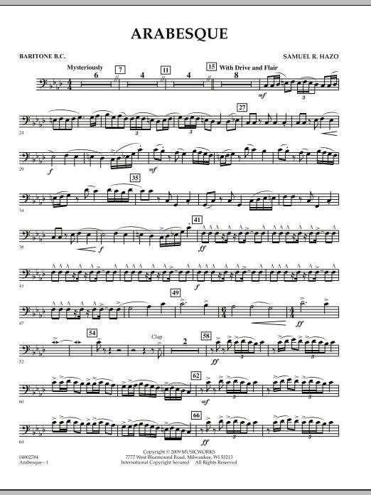 Arabesque - Baritone B.C. (Concert Band)
