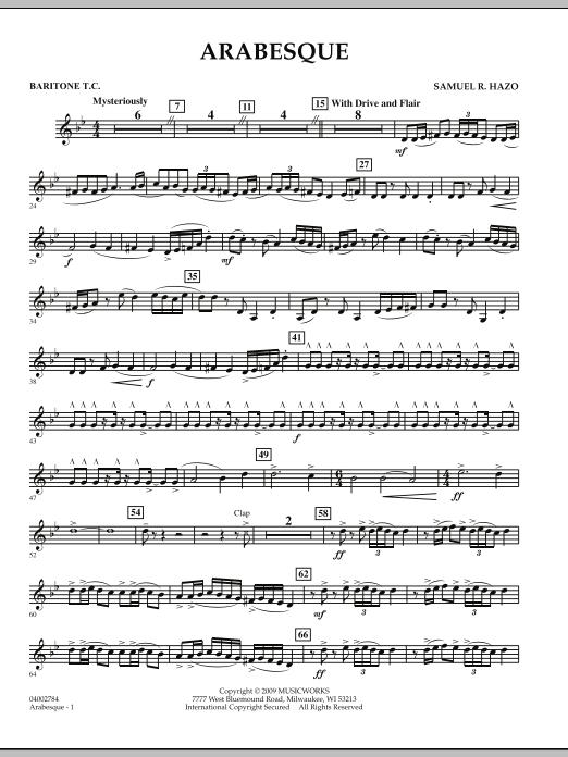 Arabesque - Baritone T.C. (Concert Band)