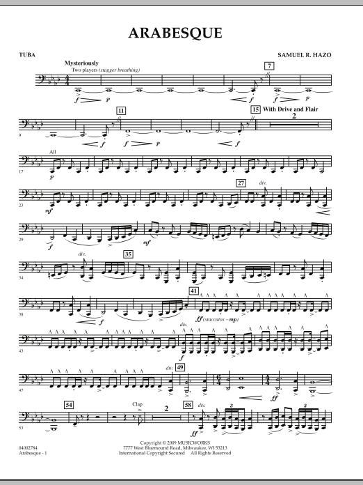 Arabesque - Tuba (Concert Band)
