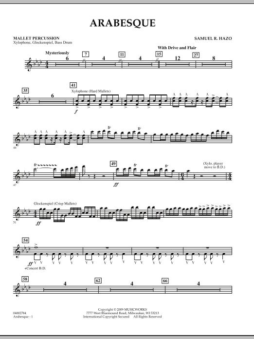 Arabesque - Mallet Percussion (Concert Band)