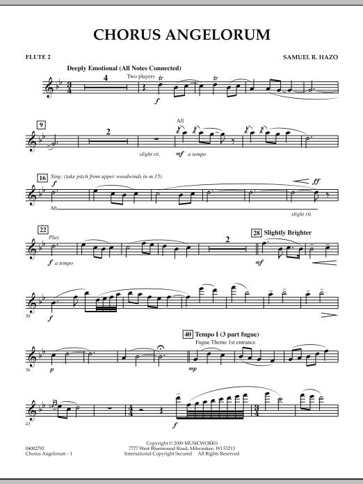 Chorus Angelorum - Flute 2 (Concert Band)
