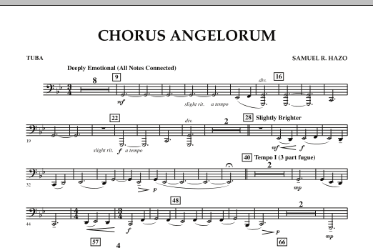 Chorus Angelorum - Tuba (Concert Band)