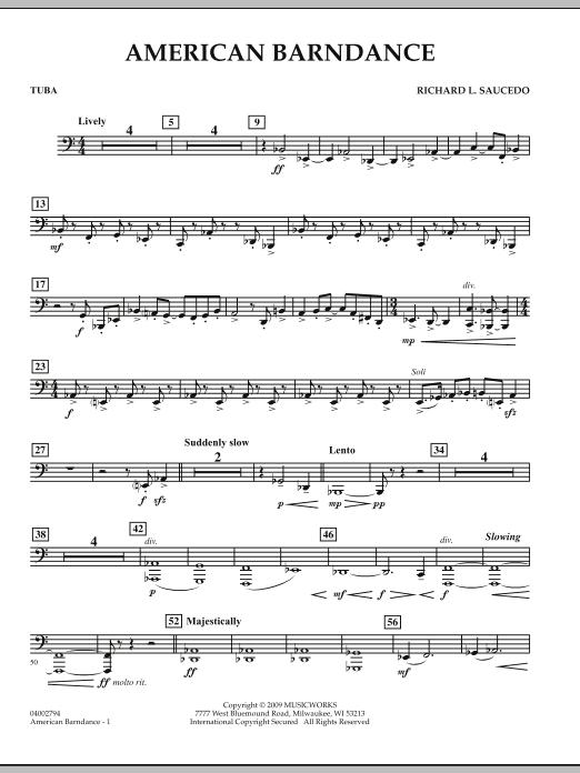 American Barndance - Tuba (Concert Band)